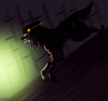 Penumbra dog by SilvestrisDream