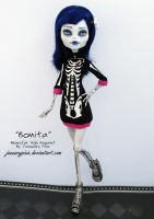 Bonita - Monster High Repaint by PixiePaints