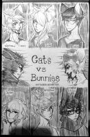 CATS VS BUNNIES by mchlsu