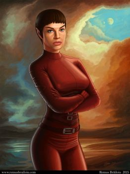 T'Pol Doppelganger by Tesparg