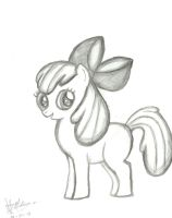 Apple Bloom by amolina45