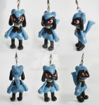 VIDEO TUTORIAL - Riolu in polymer clay by DarkyLu