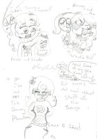 OCs throughs to DP and Fop by Kittychan2005