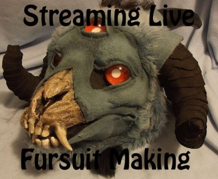 CURRENTLY STREAMING by ArtSlavefursuits