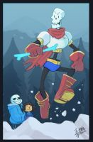 Undertale- Papyrus by MadJesters1