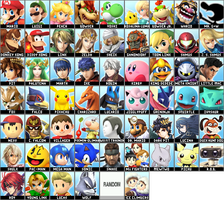 Smash 4, if the leak is real and everyone is back by atmmachine11