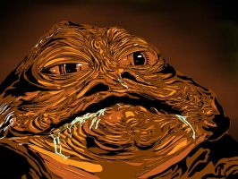 Jabba the Hutt: Crime Lord by icjaker