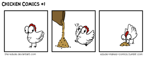 Chicken Comics #1 by the-edude
