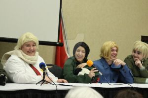 Hamacon Hetalia Panel: The Allied Powers Side by AmaranthBlacktree