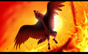 - When the skies are red, I fall - by Wolfeyes123