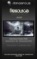 Destruction PSD by Danger-Ous