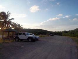 vieques beach{parking} by starlight310