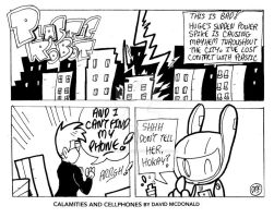 Calamities And Cellphones by PLASTIC-ROBOT-COMIC