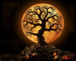 Halloween Tree by MDA by mwcats