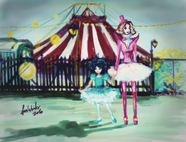PaintChat__Circus by cyan-fox