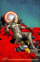 What If Ultron cover by Raffaele-Ienco