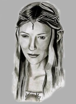 galadriel, lady of the light by sirideain