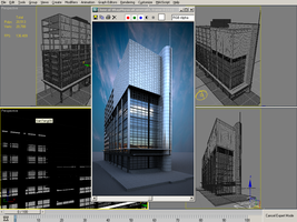 3D WIP building -option 2- by nnq2603