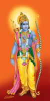 Lord Rama by satishverma