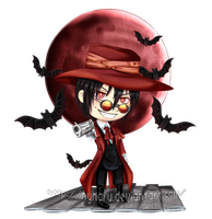 Commission - Chibi Alucard by nyharu