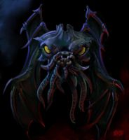 "SPEED PAINT ""Cthulhu"" by Grimbro"