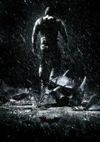 The Dark Knight Rises -  Textless HD poster! by MarkMajor