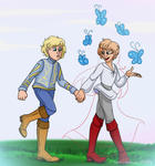 SGE: Tedros and Filip by Shokly