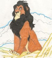 Scar from The Lion King by ebonycalypso