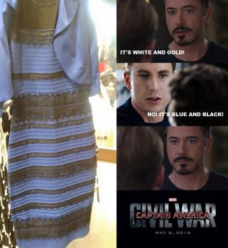 WHITE AND GOLD or BLUE AND BLACK - CIVIL WAR by SteGhost