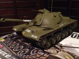 M48A2 Patton medium tank model 1/35 scale by Devastator259