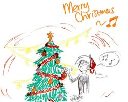 Little Christmas doodle by Witneus