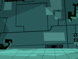 Danny Phantom Background: Fenton Lab 1 by christophr1