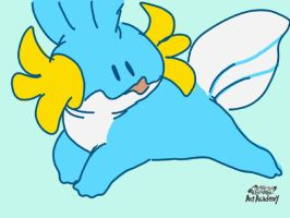 also mudkip by tech-impaired-anubis