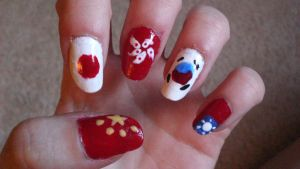 Asian Nail Art by Ginger-Curls