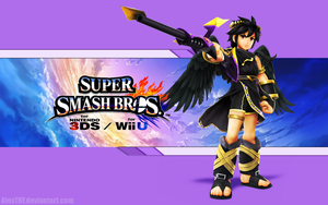 Dark Pit Wallpaper - Super Smash Bros. WiiU/3DS by AlexTHF