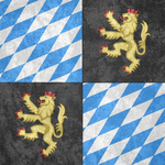 Palatinate ~ CoA Grunge Flag (1356 - 1803) by Undevicesimus