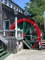 Captain's Cove Waterwheel by davincipoppalag