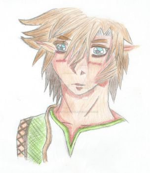 Loz  Link - Twilight Princess Color by SoulEater-Lucifer