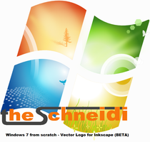 Win7 logo from scratch BETA by theschneidi