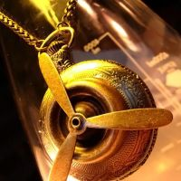 Airship Propeller Pocket Watch by Om-Society