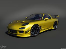 Mazda RX 7 Tuned 12 by cipriany