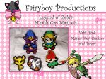 Legend of zelda Magnets Minish by FairyboyProductions