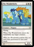 The Wonderbolts - FiMtG by Kitonin