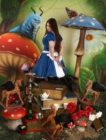 American McGee's Alice Garden by ThePrincessNightmare