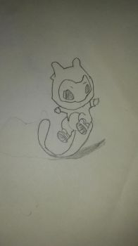 Mew by animedrawer123455
