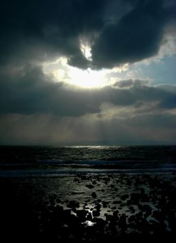and the distant waves devour by SilentStar