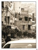 The busy streets of lebanon by Aj07