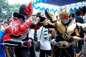 Kuuga rising ultimate vs Burning Agito by keytaros