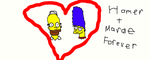 Homer and Marge Forever by Simpsonsfanatic33