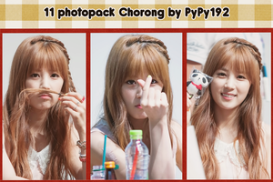 #1 - 11 photopack Chorong - by PyPy192 by PyPy192